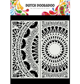 Dutch Doobadoo DDBD Mask Art Slimline Mandala 21 x 21cm