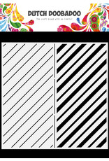 Dutch Doobadoo DDBD Mask Art Slimline Stripes 21x21cm