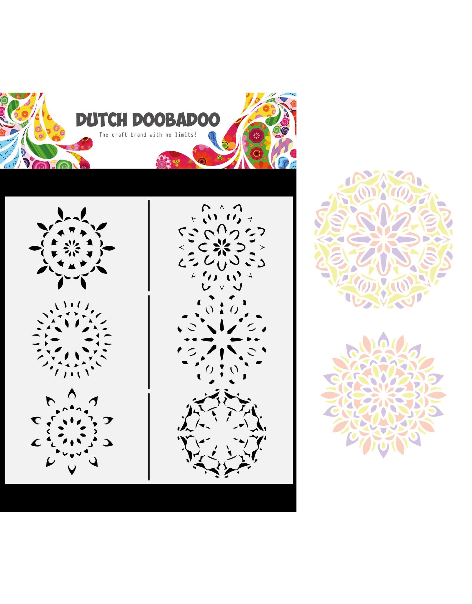 Dutch Doobadoo DDBD Mask Art Slimline Mandalas 21x21cm