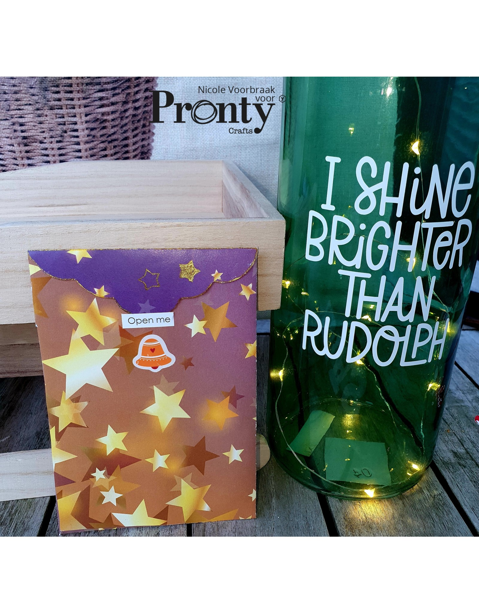 Pronty Crafts Pronty Stickers A5 Ornaments 1