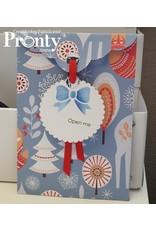 Pronty Crafts Pronty Crafts Gift envelope Christmas A4