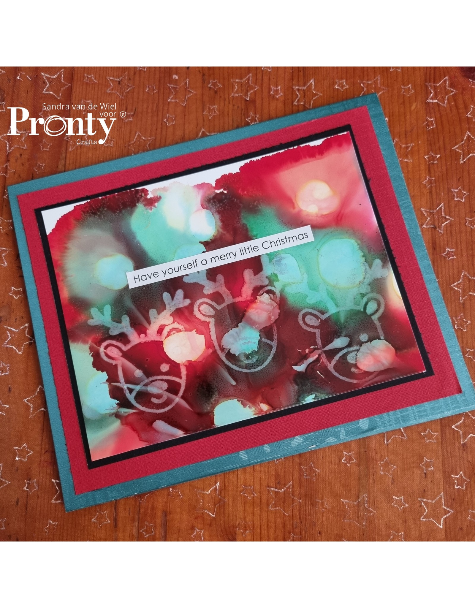 Pronty Crafts Foam stamps Reindeer