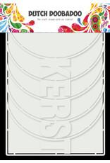 Dutch Doobadoo DDBD Card Art Kerst Album 6 set