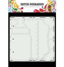 Dutch Doobadoo DDBD Card Art Baby album 5 set