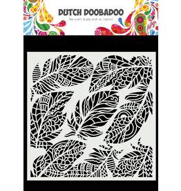Dutch Doobadoo DDBD Dutch Mask Art 15 X 15 cm feather