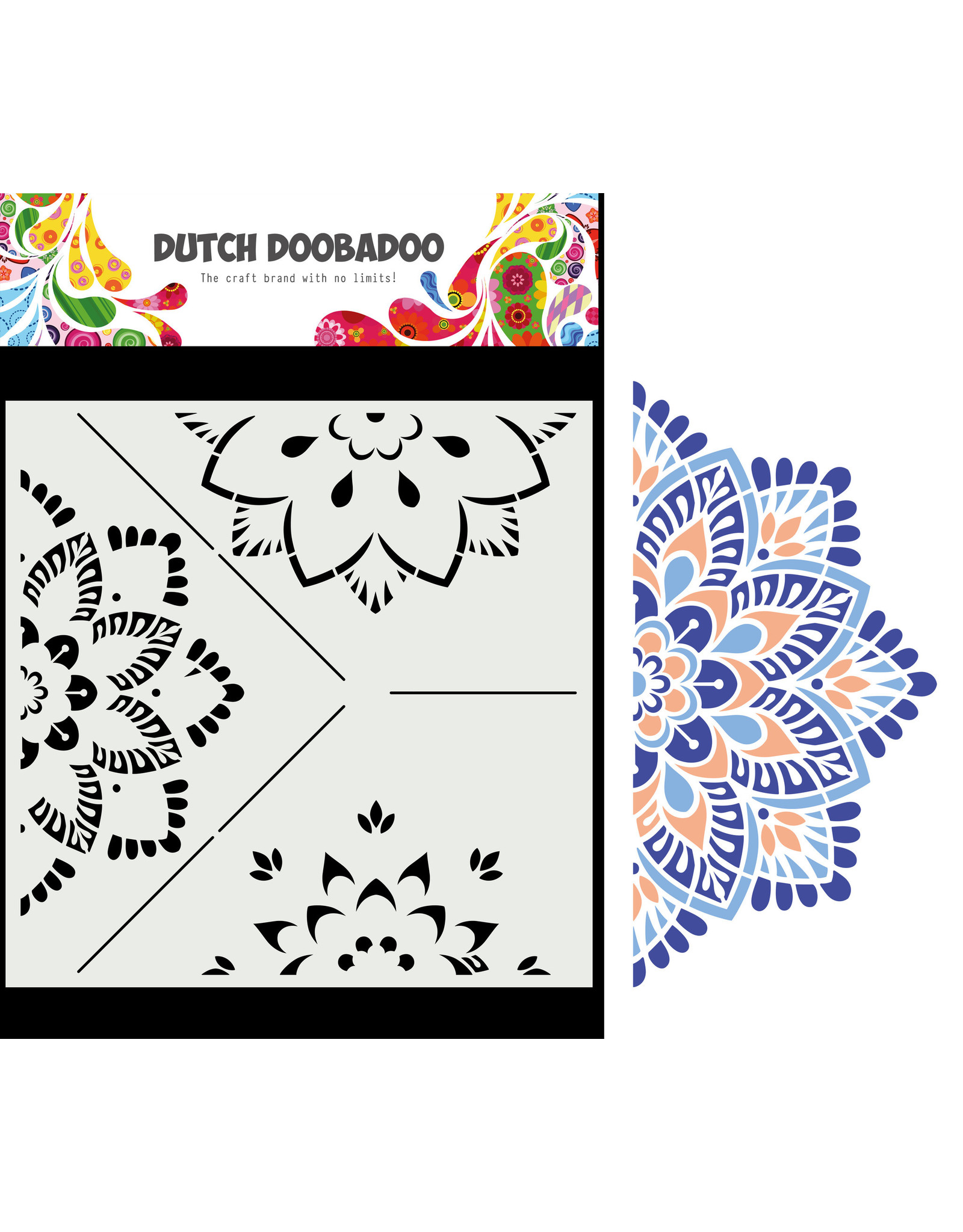Dutch Doobadoo DDBD Mask Art Mandala  B