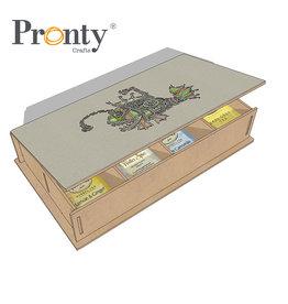 Pronty Crafts Pronty Crafts MDF Steampunk Teabox