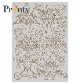 Pronty Crafts Pronty Crafts Chipboard Steampunk Insects A5