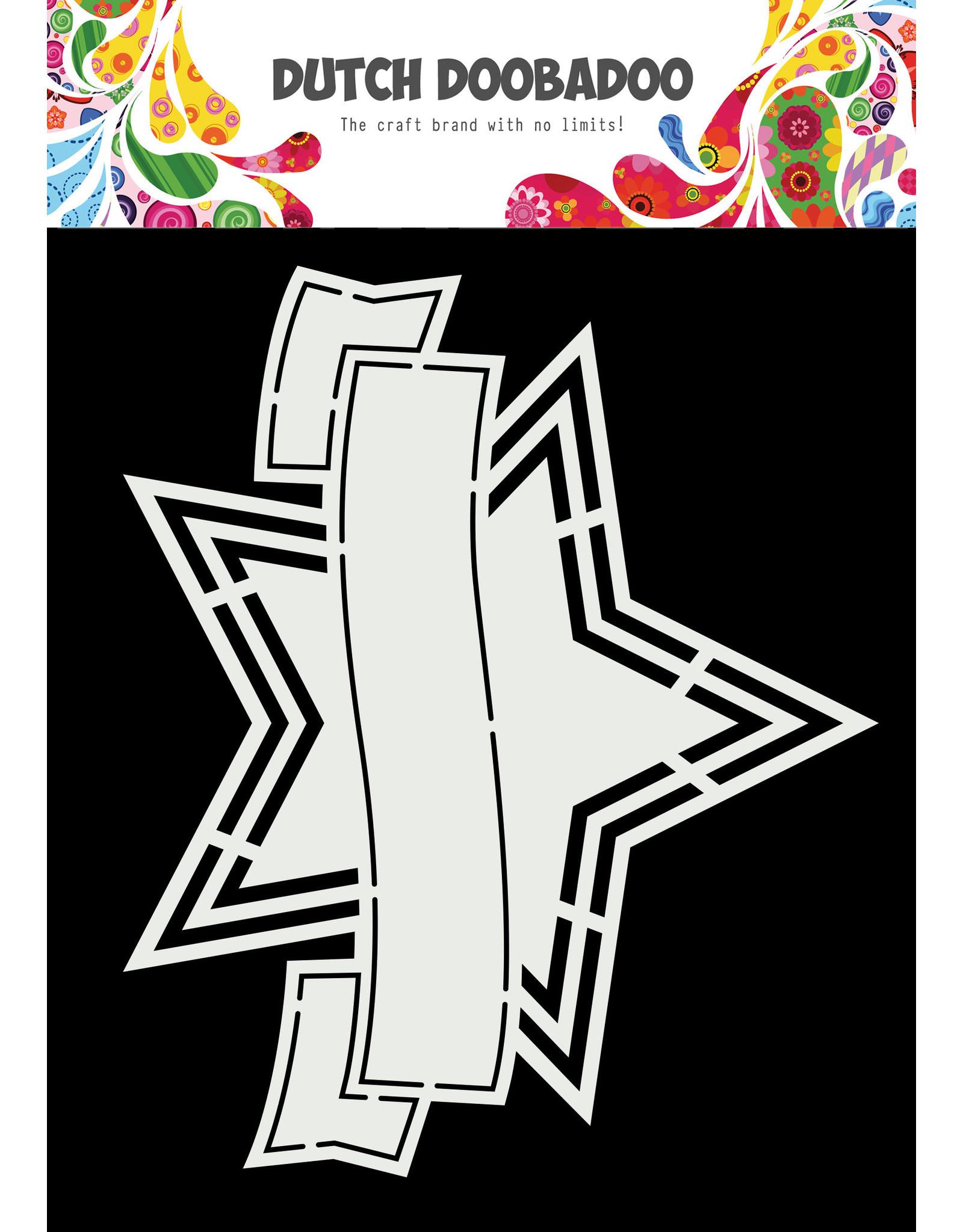 Dutch Doobadoo DDBD Shape Art Star banner