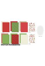 Dutch Doobadoo DDBD Crafty Kit A5 - Rudolph