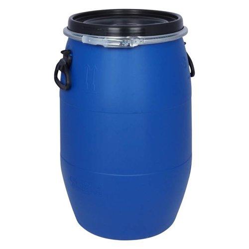 60 liter kunststof klemdeksel vat