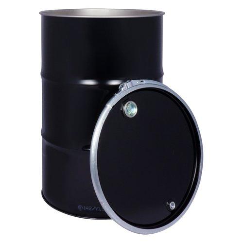 216 liter stalen combinatie vat (klemdeksel / bondel)