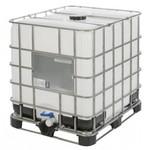 1000 liter IBC met combi pallet en UN keurmerk