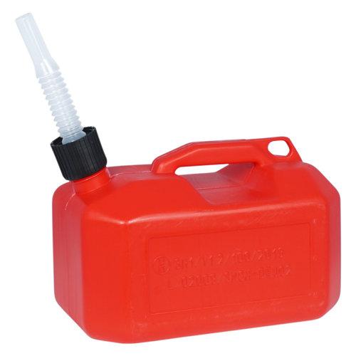 5 liter kunststof brandstof jerrycan  - Marina