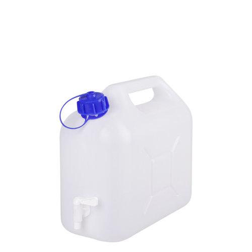 5 liter jerrycan met kraan voor levensmiddelen