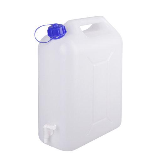 10 liter jerrycan met kraan voor levensmiddelen