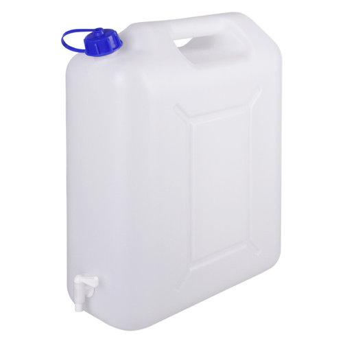 20 liter jerrycan met kraan voor levensmiddelen