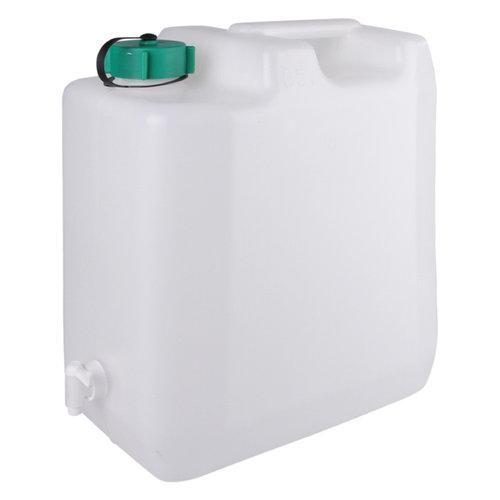 35 liter jerrycan met kraan voor levensmiddelen