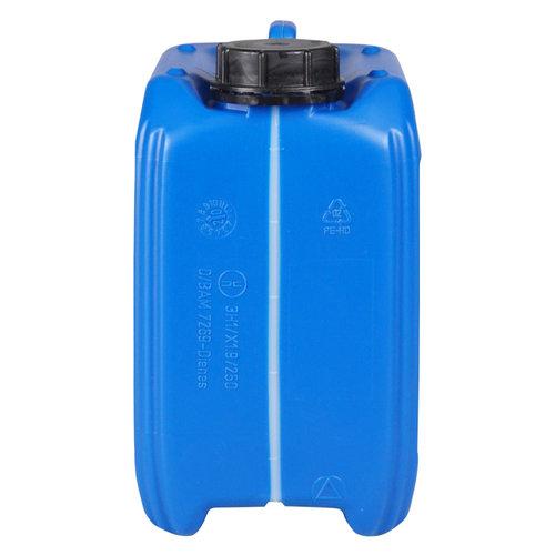 5 liter stapelbare UN jerrycan - blauw