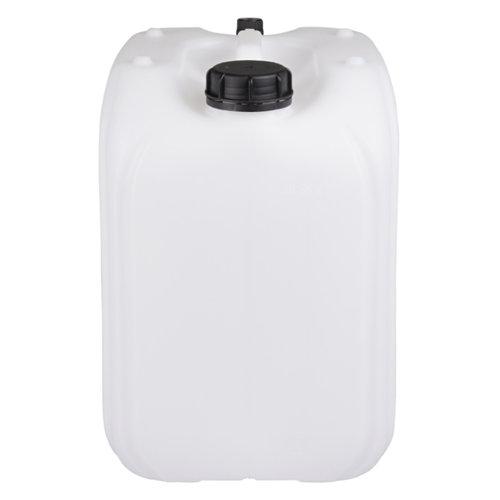 20 liter stapelbare UN jerrycan met beluchting - naturel
