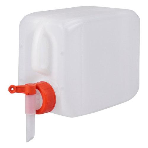 2,5 liter jerrycan met kraan voor gevaarlijke vloeistoffen