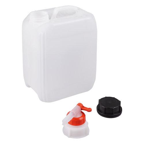 5 liter jerrycan met kraan voor gevaarlijke vloeistoffen