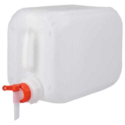 10 liter jerrycan met kraan voor gevaarlijke vloeistoffen