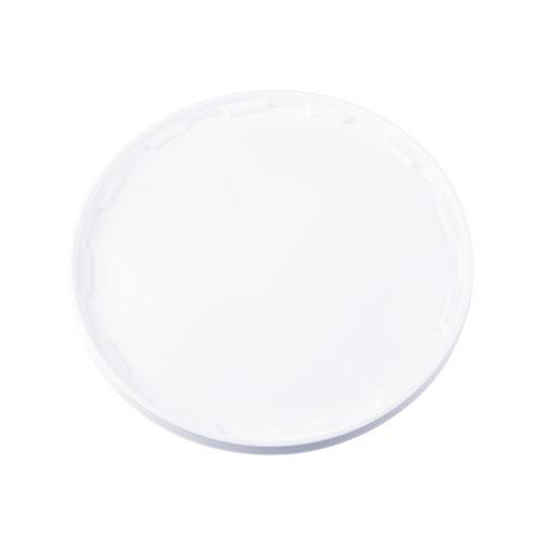 Witte deksel voor 10 liter emmer met deksel - rond