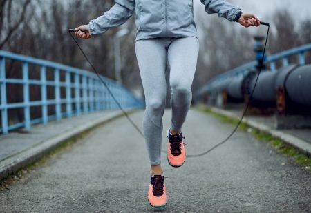 Droog trainen - Springtouwen- Thuis sporten