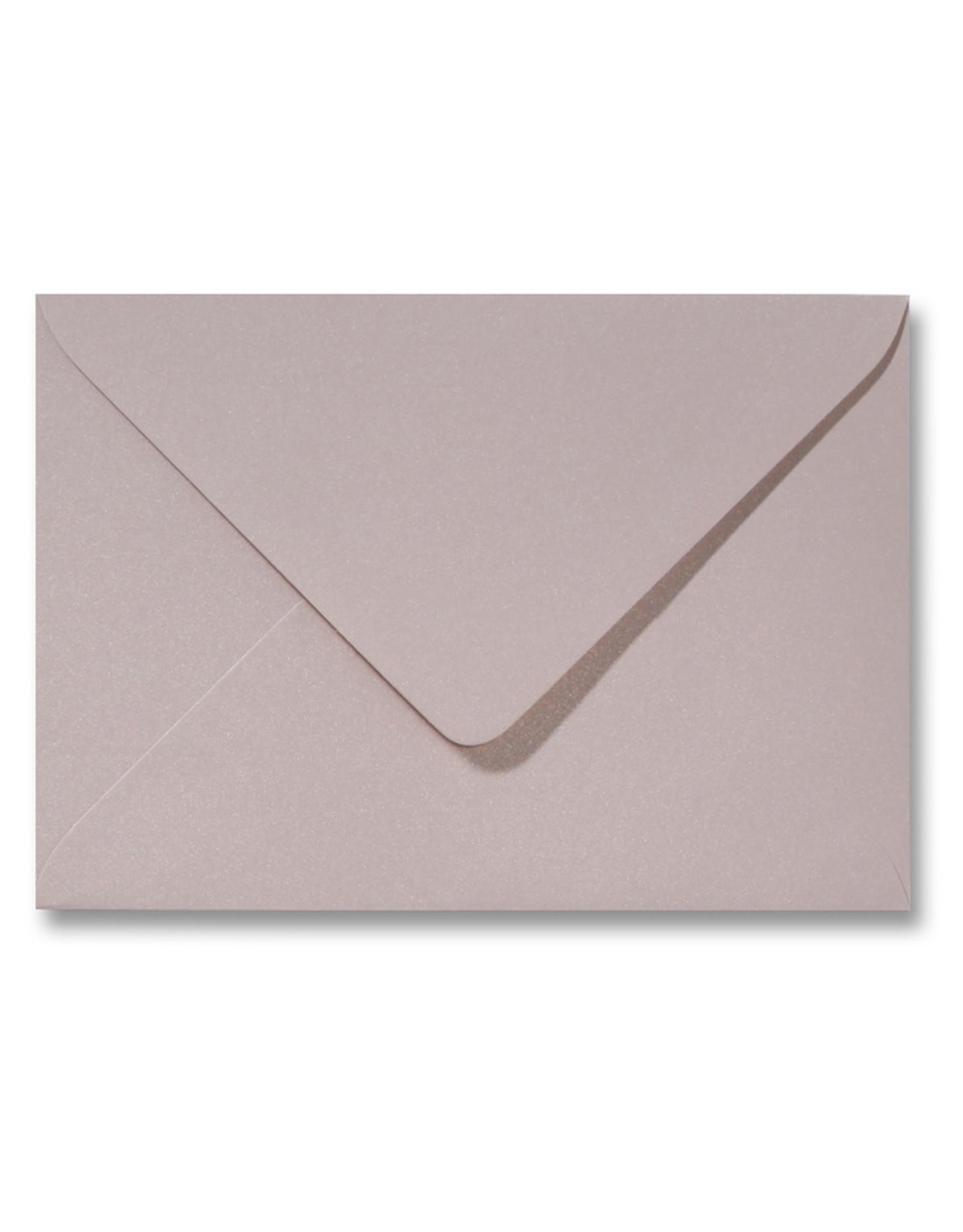 www.Robin.cards Blanco metallic envelop Oud Roze