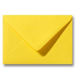 www.Robin.cards Blanco effen envelop Geel