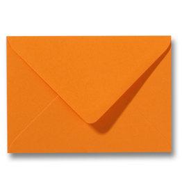 www.Robin.cards Blanco effen envelop Oranje