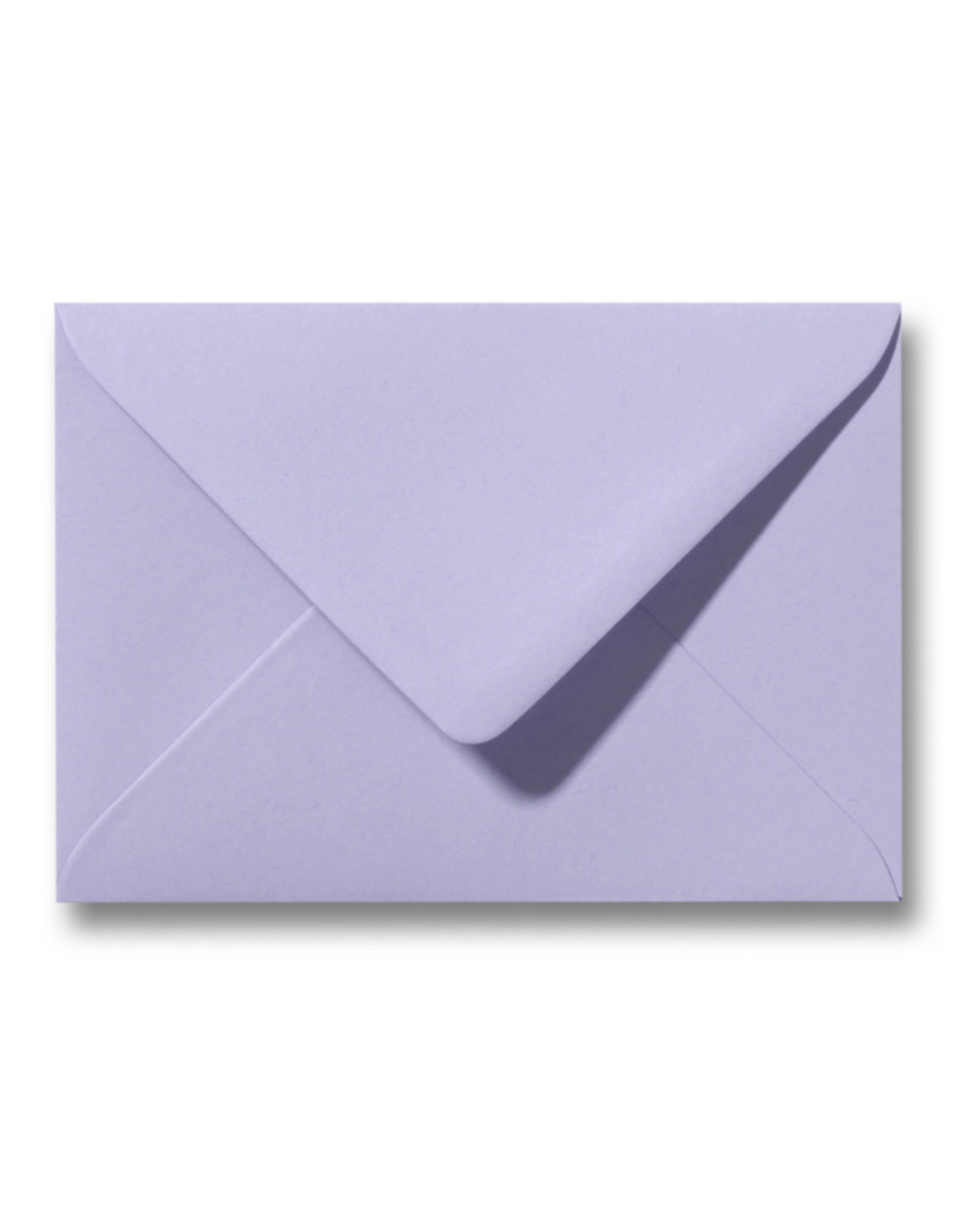 www.Robin.cards Blanco effen envelop Lavendel