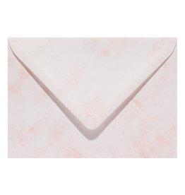 www.Robin.cards Marmer envelop  Lichtroze
