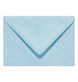 www.Robin.cards Marmer envelop  Lichtblauw
