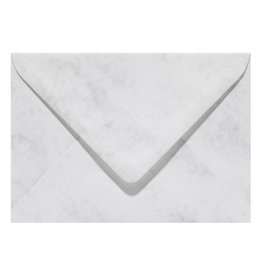 www.Robin.cards Marmer envelop  Grijswit