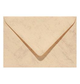 www.Robin.cards Marmer envelop  Okergeel