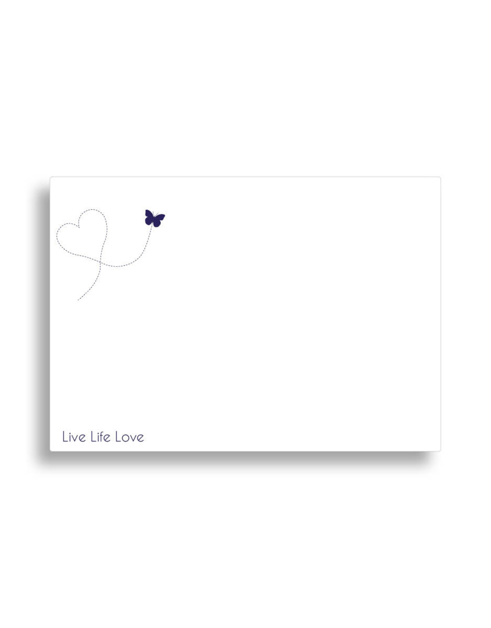 www.Robin.cards Bedrukte envelop  Wit TOMMIE