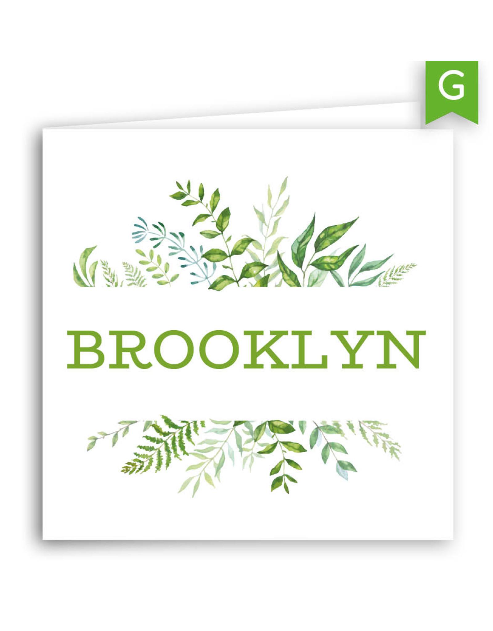 www.Robin.cards Geboortekaartje gratis gevouwen BROOKLYN