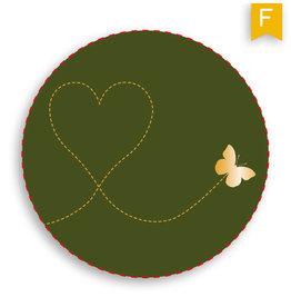 www.Robin.cards Sluitzegel folie FERRIE