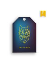 www.Robin.cards Label foliedruk JAX