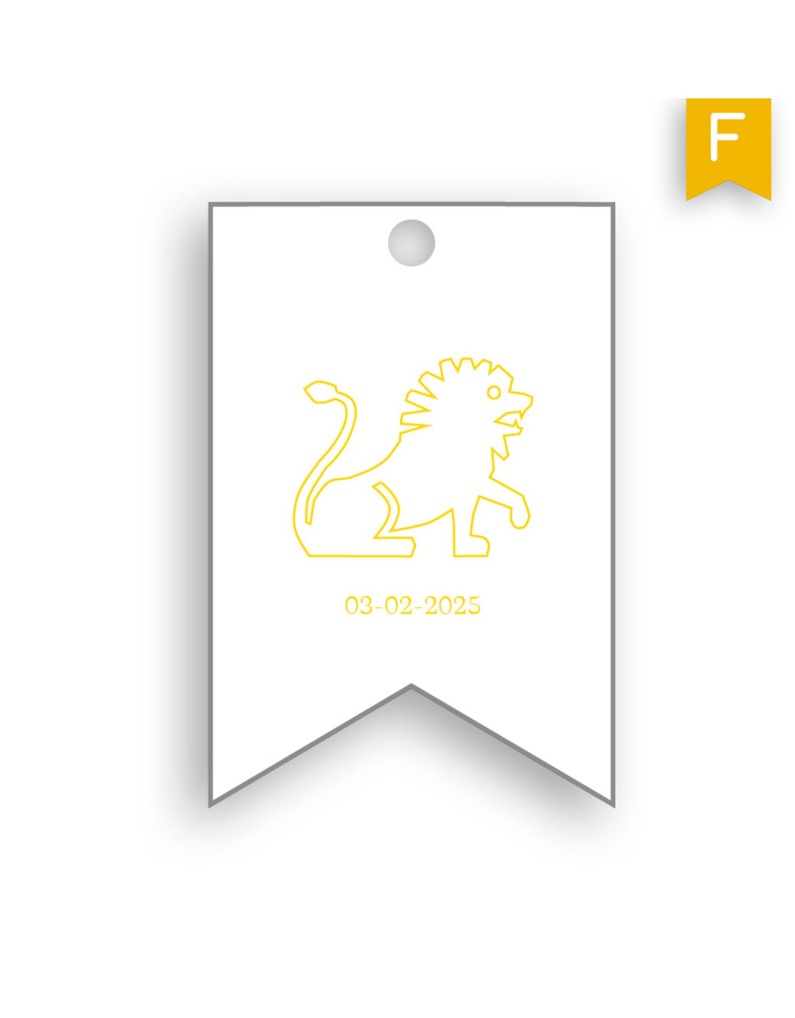 www.Robin.cards Label foliedruk RAPHAEL