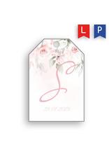 www.Robin.cards Label geboortekaartje SAAR