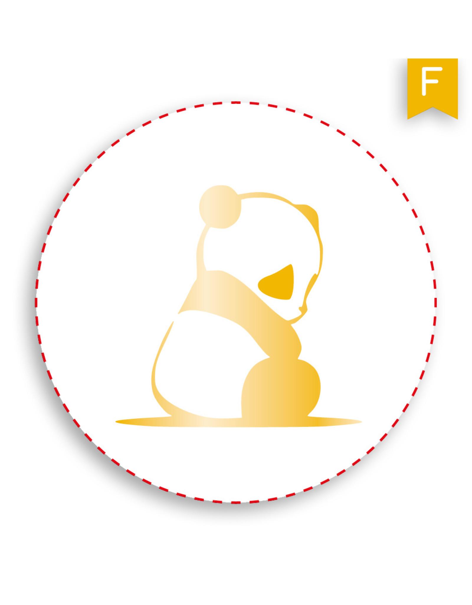 www.Robin.cards Sluitzegel folie  POPPY