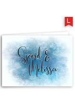 www.Robin.cards Trouwkaarten luxe rechthoek gevouwen Sjoerd en Melissa