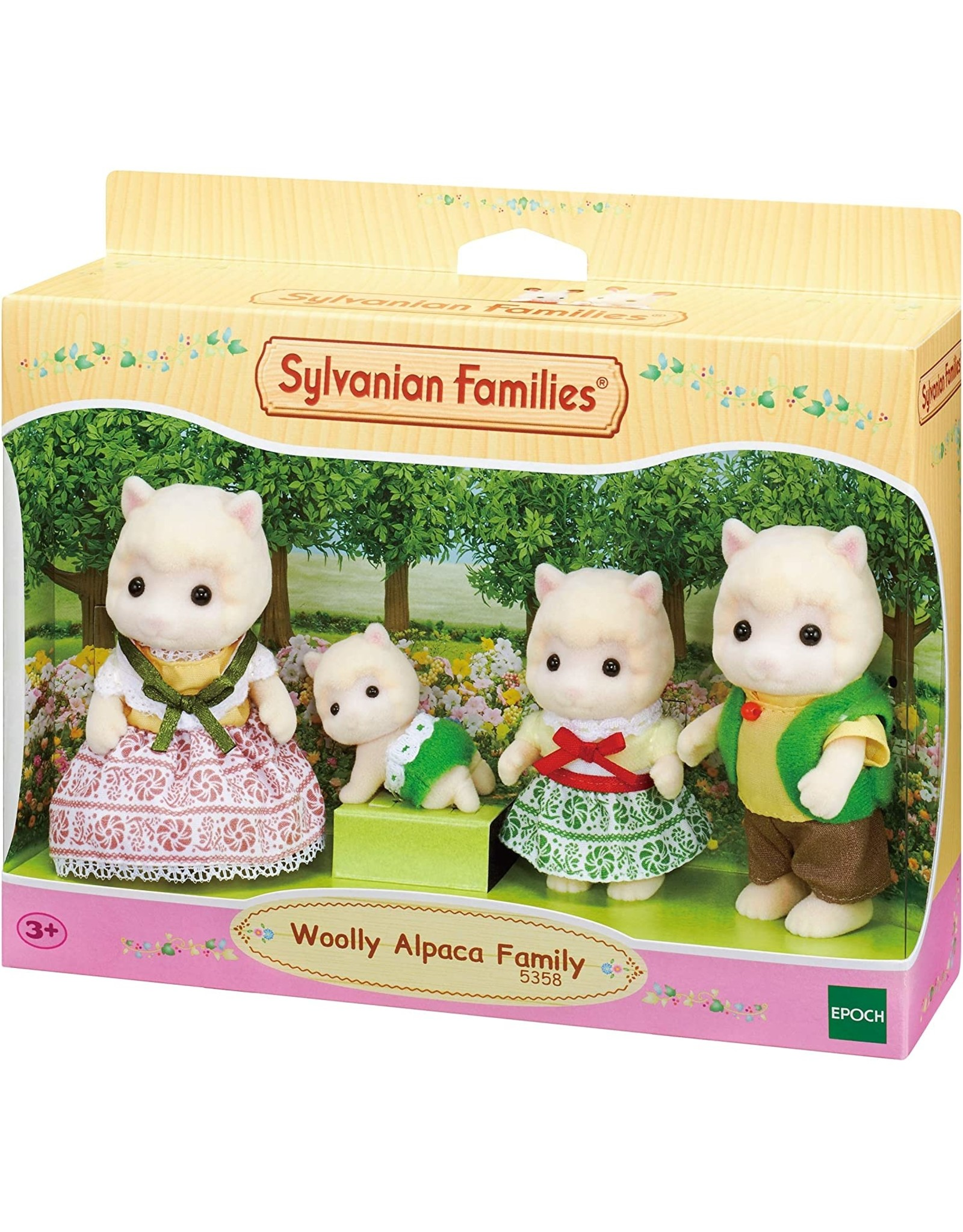 Sylvanian Families Sylvanian Families Familie Alpaca