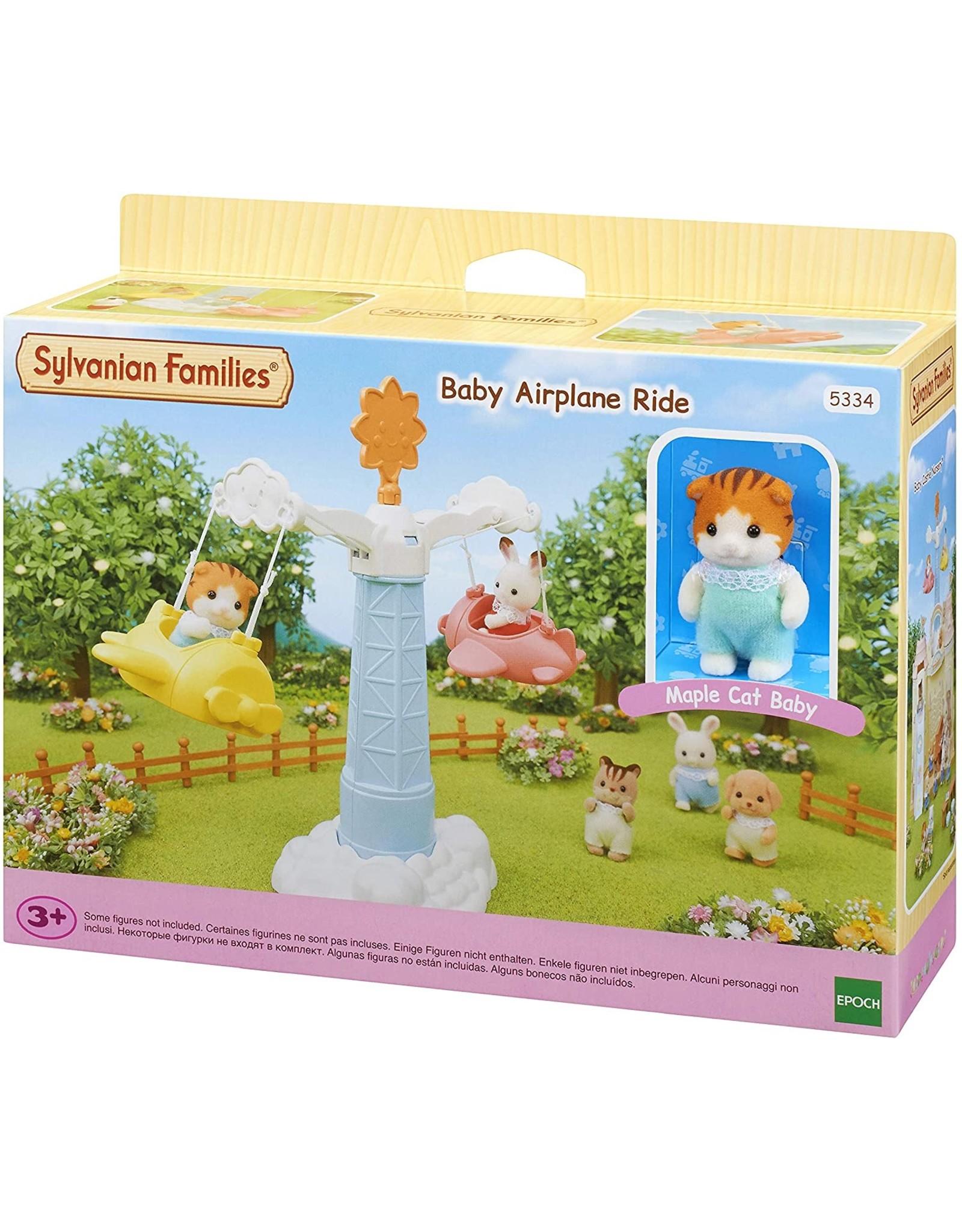 Sylvanian Families Sylvanian Families Baby Vliegtuigrit