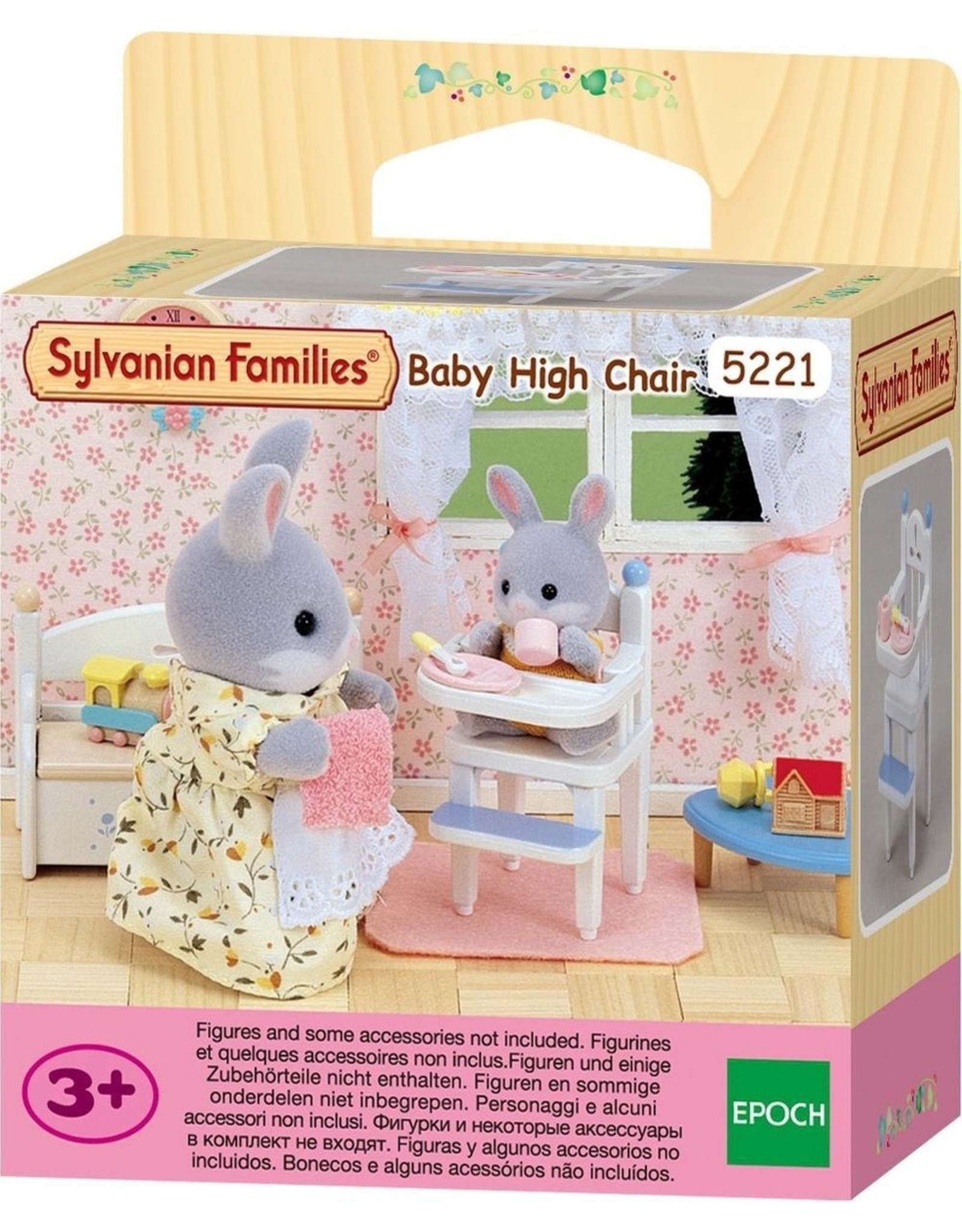 Sylvanian Families Sylvanian Families Hoge Kinderstoel