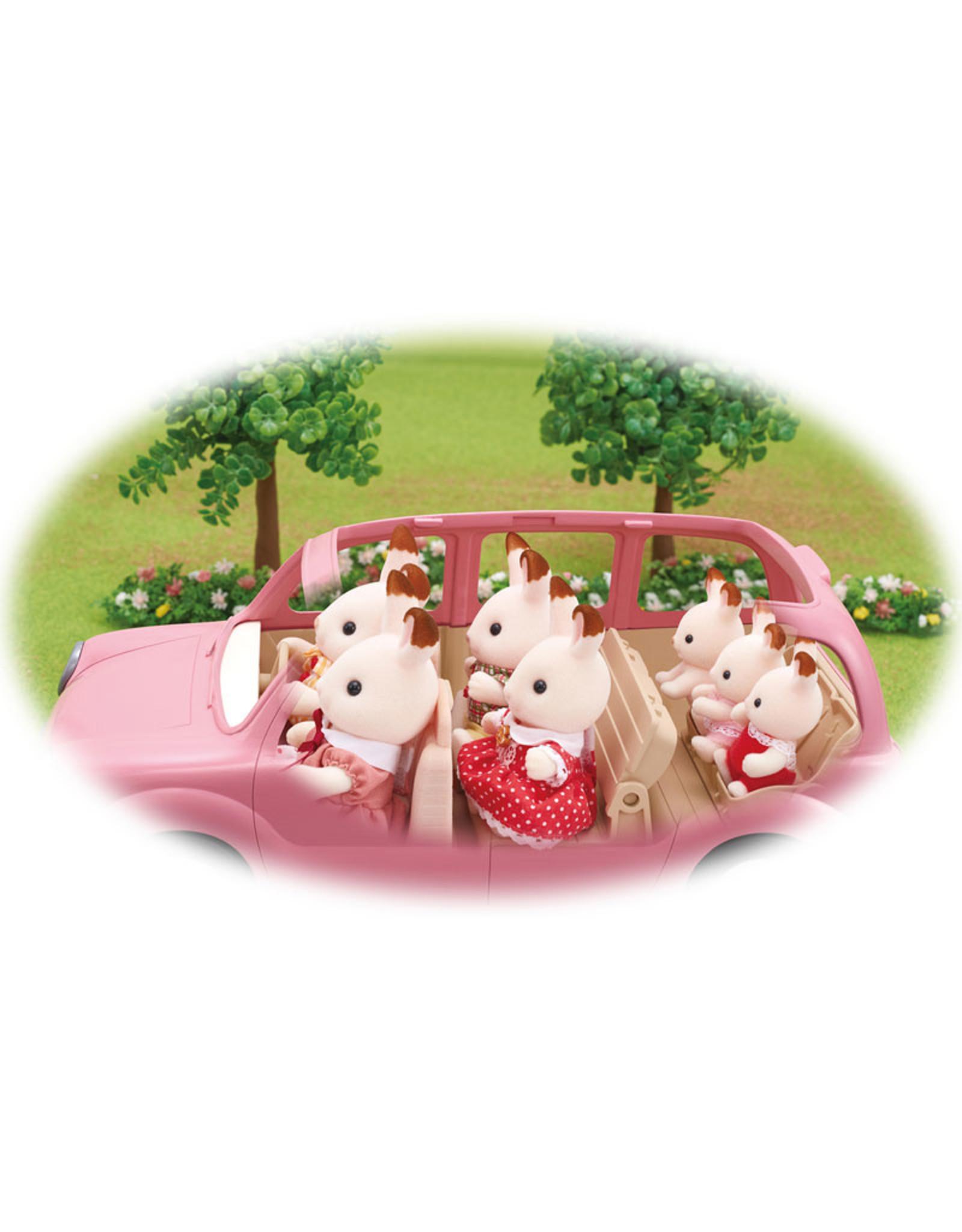 Sylvanian Families Sylvanian Families familie picknick auto