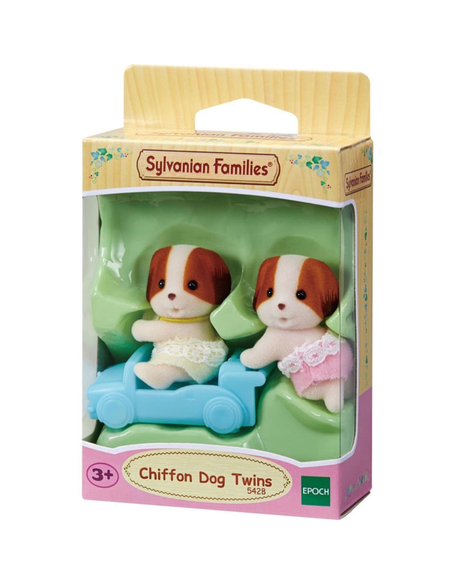 Sylvanian Families Tweeling Chiffon Hond (nieuw)
